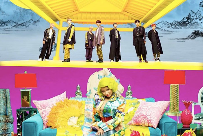 Nicki Minaj features in new BTS music video `IDOL`