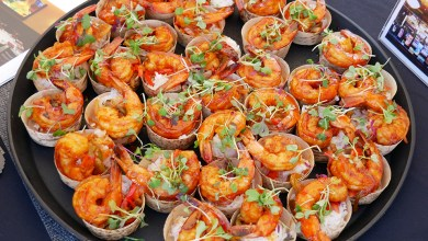 Rock N Fish BBQ Shrimp at LA Food Fest
