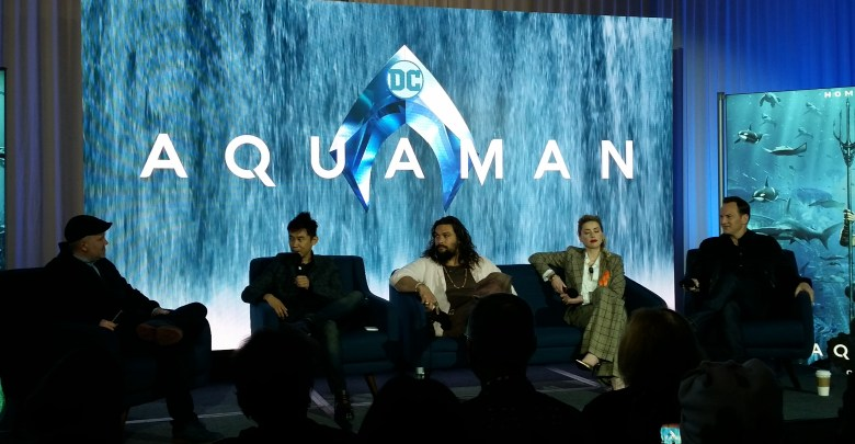 Aquaman Press Conference
