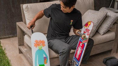 Photo of MTN DEW Partners with GIRL Skateboard Company and California Artist Tim Lahan