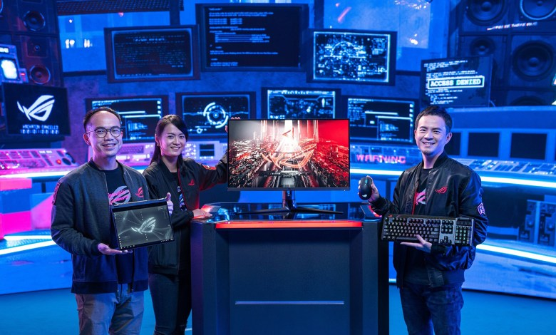 ASUS Republic of Gamers Announces an Astounding Array of Gaming Weaponry
