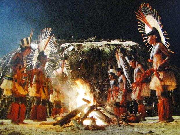 Ritual dos índios