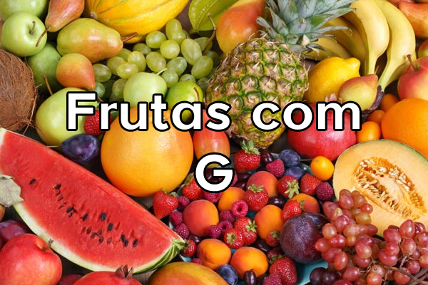 Frutas com G