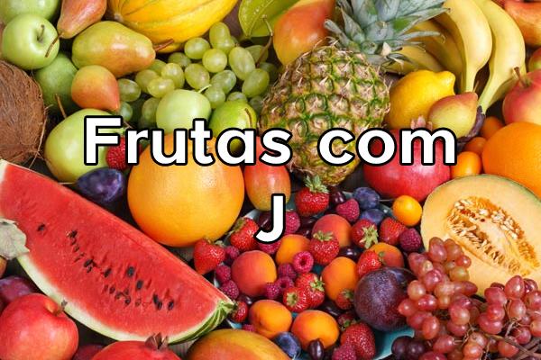 Frutas com J