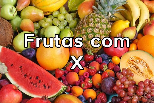 Frutas com X