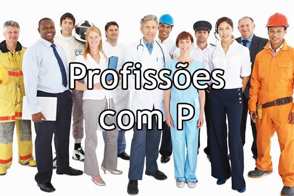 Profissões com P