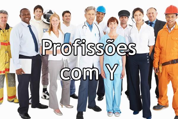 Profissões com Y