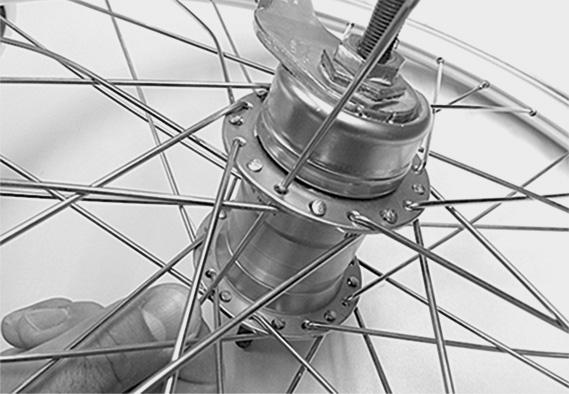 Raio de bicicleta