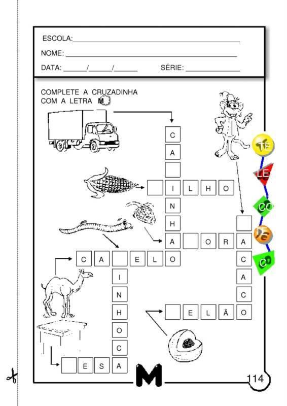 Silabas interativas 3 EM PDF atividades Atividades