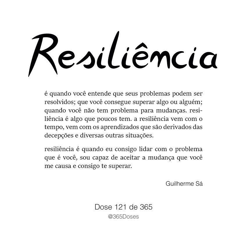 O Que Significa Resiliência