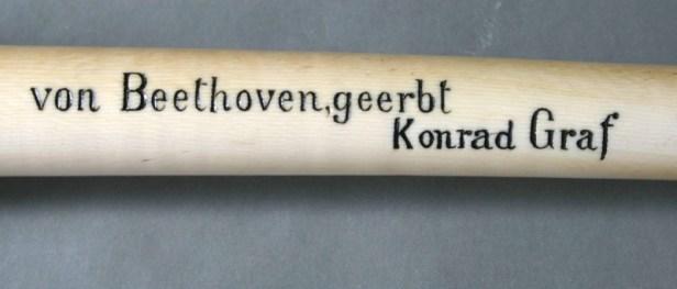 Von Beethoven, geerbt Konrad Graf