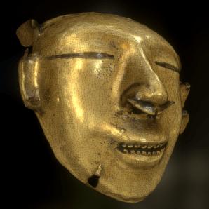 gold-mask-sketchfab