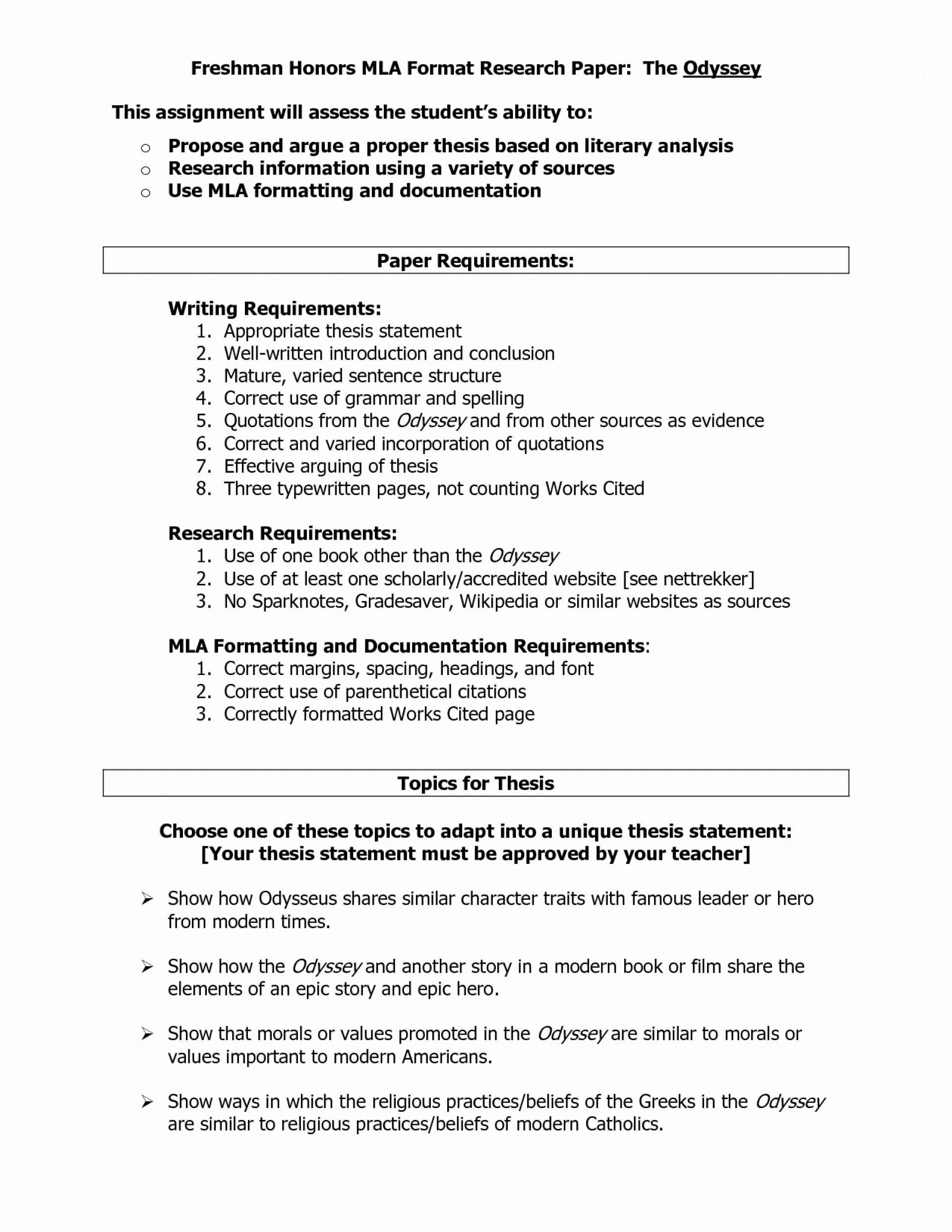 003 Proper Format For Research Paper Outline Template Apa