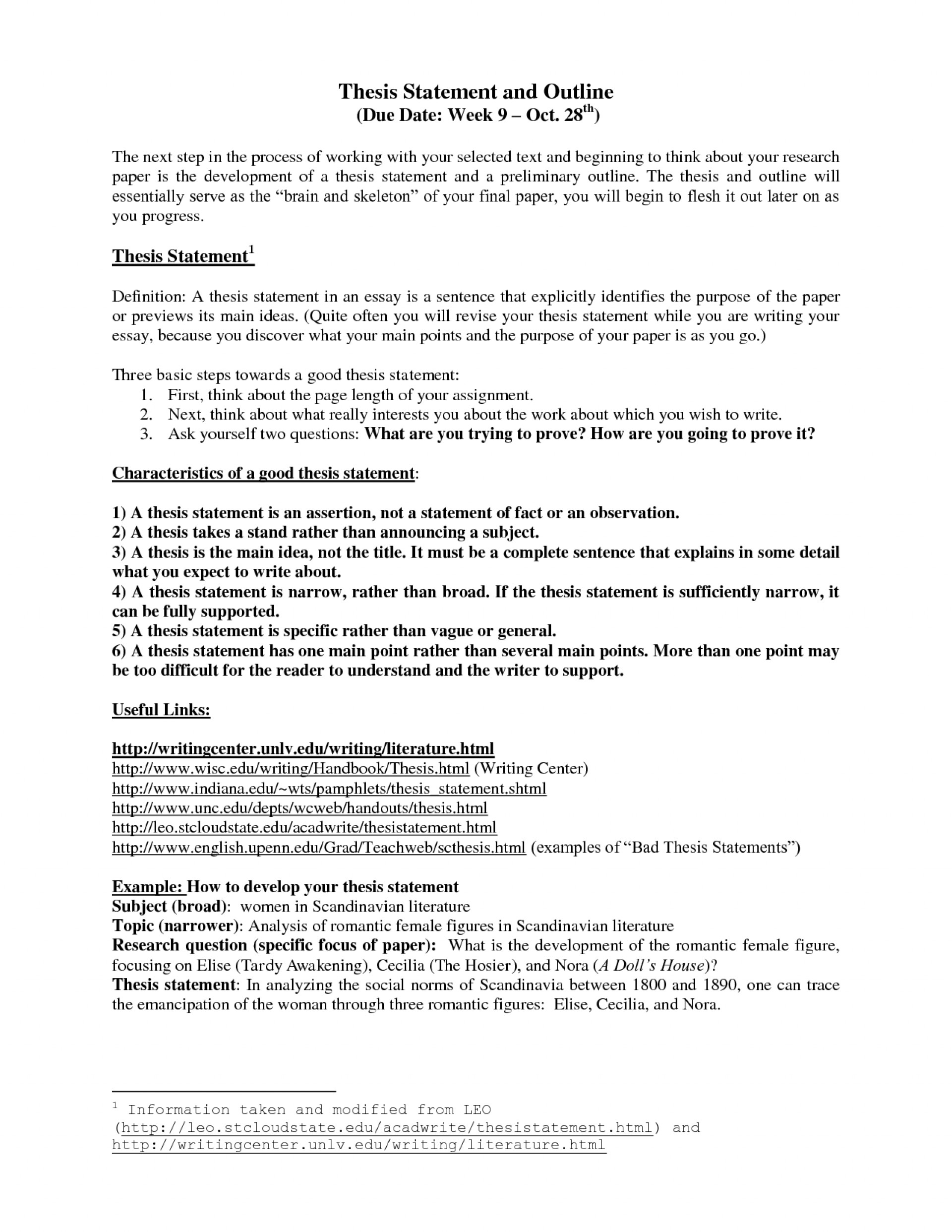 018 Thesis Statement And Outline Template Wx8nmdez Research Paper Museumlegs