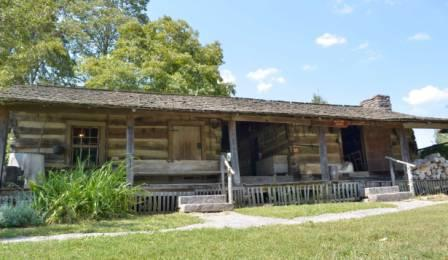 McClung Dogtrot Cabin