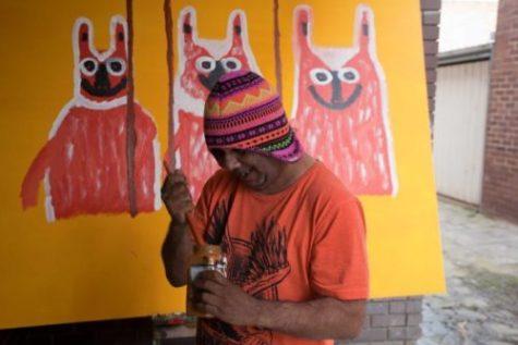 Trevor Turbo Brown in the studio