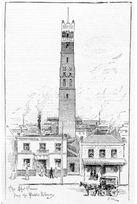 Coop Shot Tower, Melbourne, 1891
