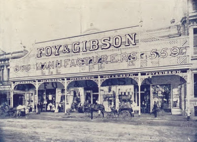 The original Foy and Gibson store.
