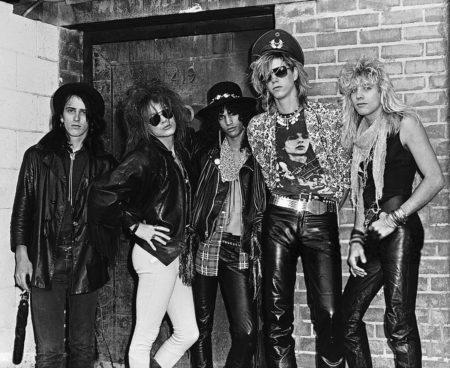 Guns n Roses, original line up, 1985