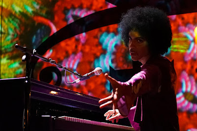 Prince in stage, 2016