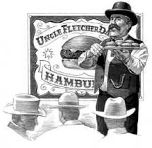 Who invented the hamburger: Uncle Fletcher Davis