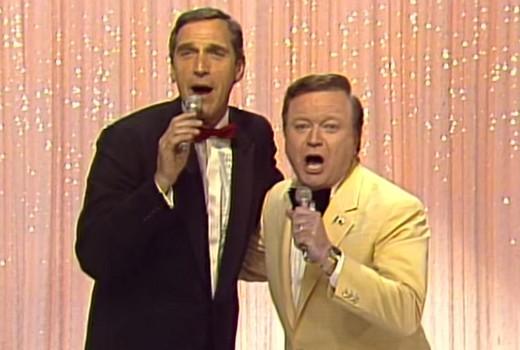 Don Lane and Bert Newton