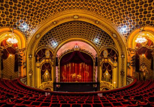 The interior of Sydney's State Theatre