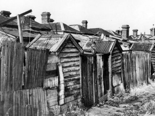 Cheap accommodation in Fitzroy, 1930s.