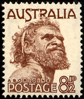 Tjungurrayi was the first Indigenous Australian to feature on a stamp