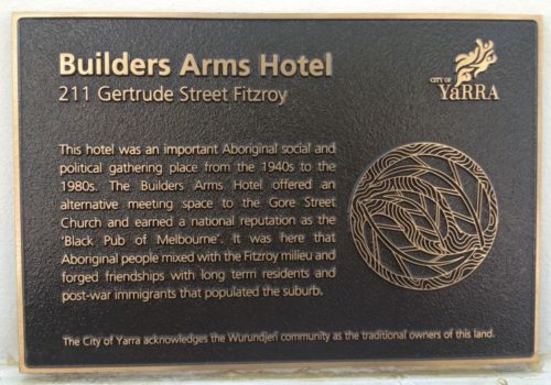 Builders Arms Hotel, the black pub of Melbourne