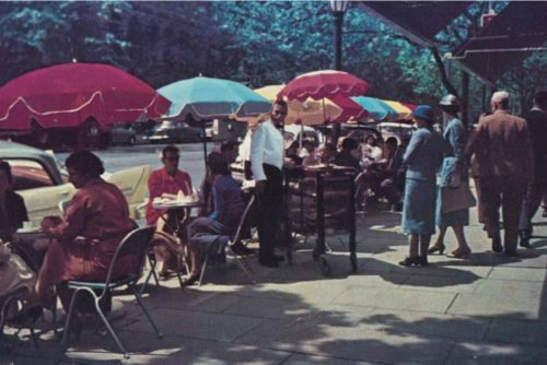 The Paris end of Melbourne: The cafe near the end of its time