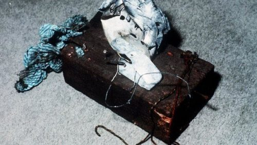 Explosive device used in the Russell Street bombing
