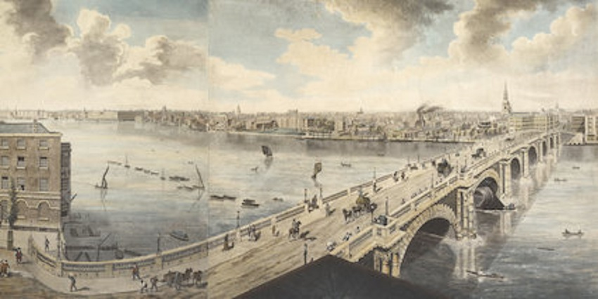 Robert Barker's panorama of London, 1793
