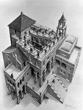 'Ascending and Descending' by M.C. Escher