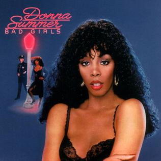The album coverf for the disco hit 'Bad Girls' by Donna Summer