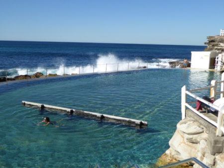 The public baths at Bronte Beach