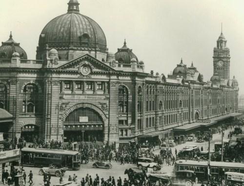 Flinders Street Station, circa 1930