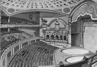 New York's lost buildings: The Hippodrome, interior