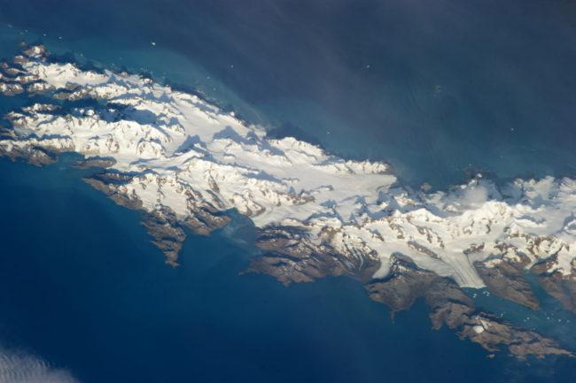 South Georgia Island form space