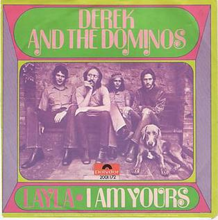 ALbum cover for 'Layla' by Derek and the Dominos