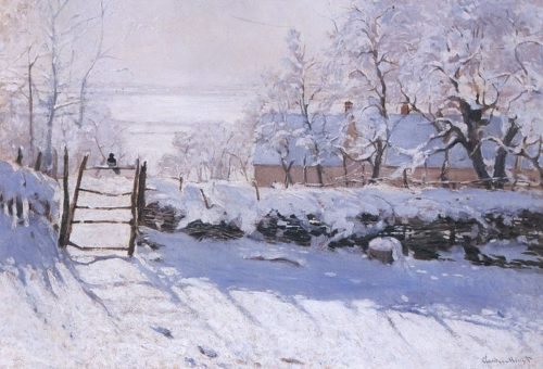 Monet's 'The Magpie'