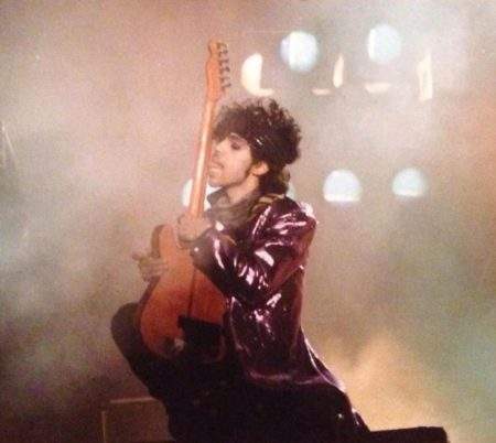 Prince on stage in 1982