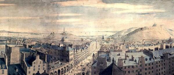 Robert Barker's panorama of Edinburgh, 1792