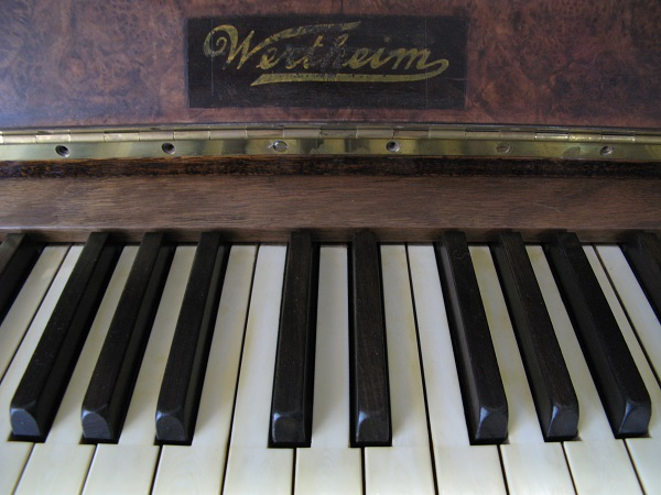A Wertheim piano