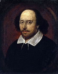 The only known portrait of William Shakespeare