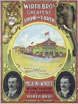 Poster for the Wirth's Circus