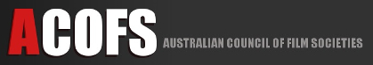 The logo of ACOFS, the Australian Council of Film Societies