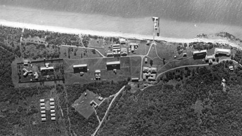 Point Nepean Quarantine Station: aerial view