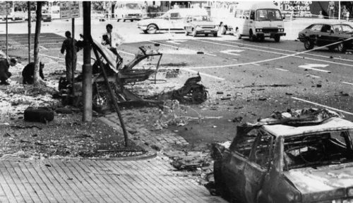 The Russell Street Bombing