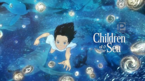 Movie poster for 'Children of the Sea'